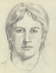 One of the three primary sketches of the Golden State Killer