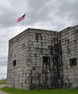 Fort Knox fortification.