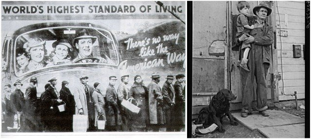What life was like during the Great Depression