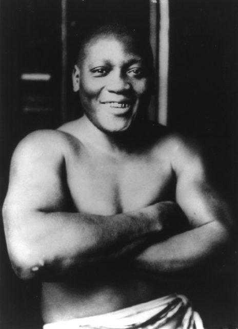 Jack Johnson: The first African American world heavyweight boxing champion