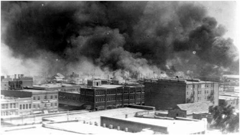 What happened to Black Wall Street on June 1, 1921?