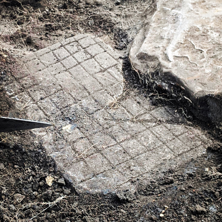 Roman Game Board Unearthed at Vindolanda