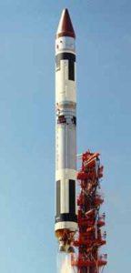 Titan-3A with LES-1 satellite