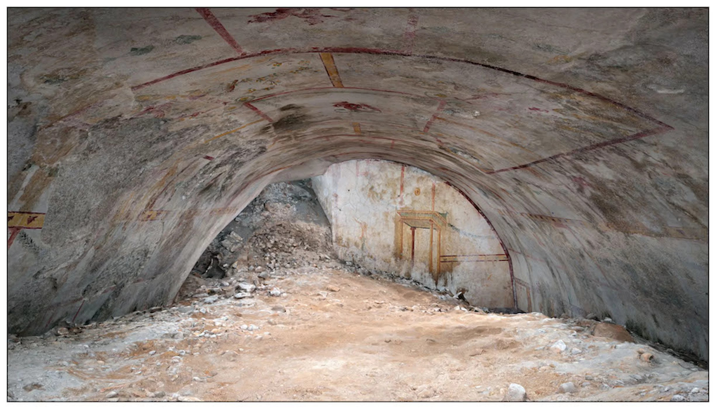 A Hidden Underground Chamber Has Been Found in The Palace of Roman Emperor Nero