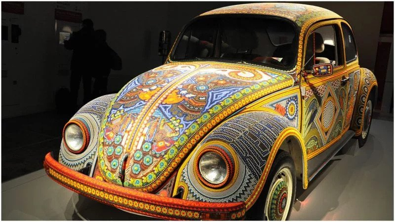 This VW Beetle Is Covered In 2 Million Glass Beads And The Result Is Amazing