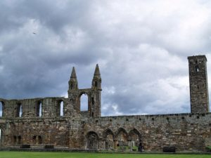 It was built in 1158 and became the center of the Medieval Catholic Church in Scotland.