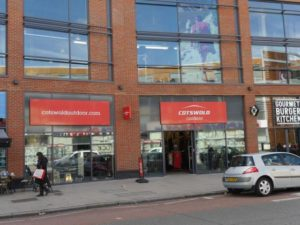 Cotswold Outdoor, Southside Wandsworth, London.