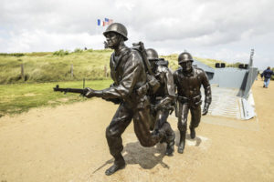 Utah Beach, D-Day commemorations. June 6, 2017.