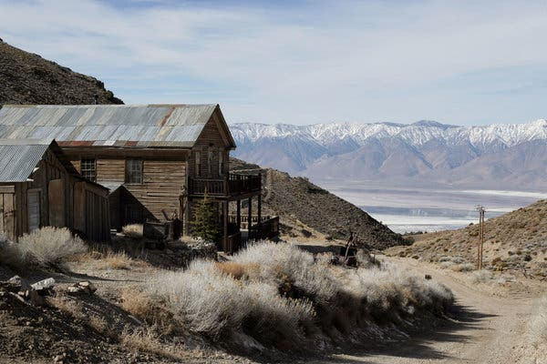 A group of LA investors paid over $1M for a California ghost town