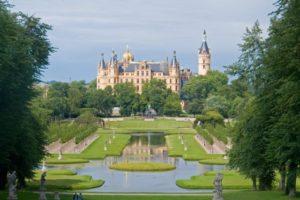 Schwerin Castle, Mecklenburg-Vorpommern state, northern Germany.
