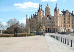 The wonderful castle in Schwerin, capital city of Mecklenburg-Vorpommern.