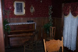 Interior of Saloon in Cerro Gordo.