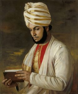 Portrait of Abdul Karim (the Munshi) by Rudolf Swoboda, 1888. Royal Collection.