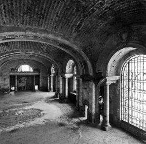 Interior Mezzanine of Michigan Central Station, Detroit.