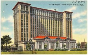 The Michigan Central Depot, Detroit, Mich