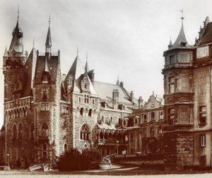 Moszna castle.