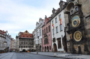 The Prague Astronomical Clock is a medieval astronomical clock located in Prague.