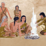Illustration of Monongahela Natives.