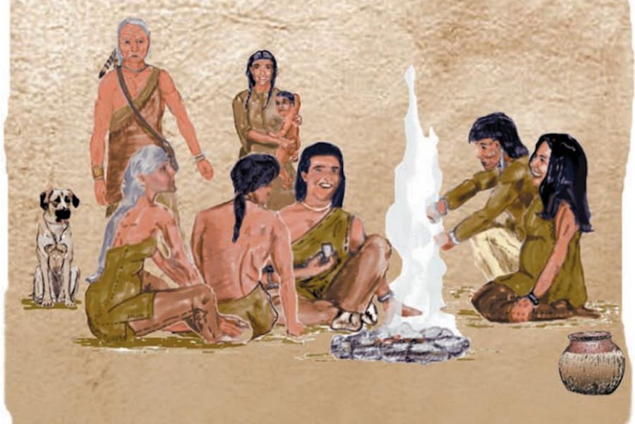 Illustration of Monongahela Natives.