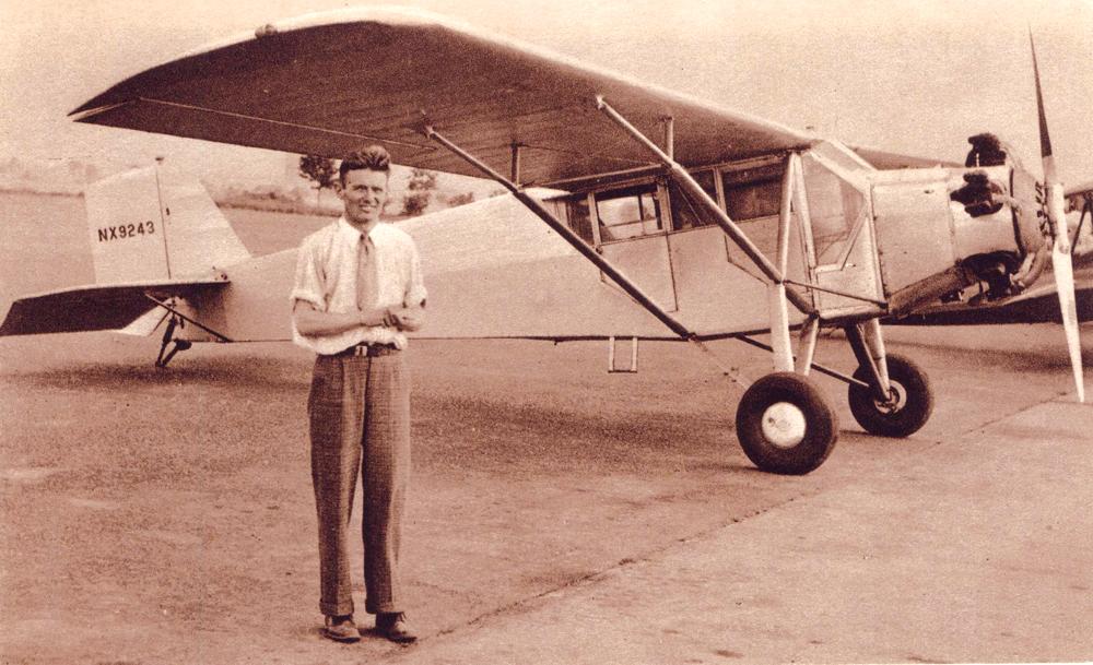 "Douglas Corrigan: American Aviator He was nicknamed ""Wrong Way"" to make a nonstop flight from New York to Ireland"
