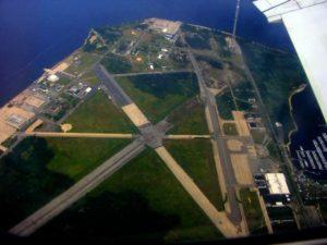 Aerial view of Floyd Bennett Field