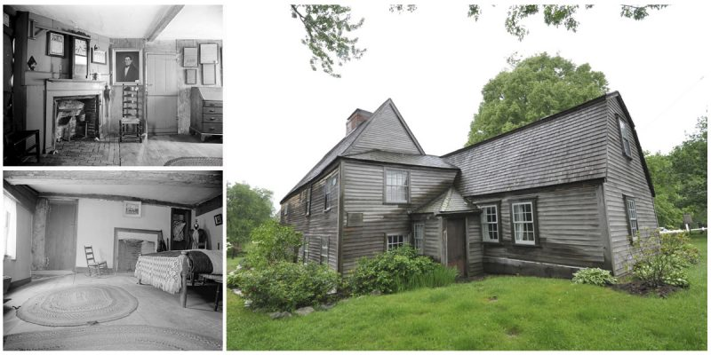The Fairbanks House-Oldest Timber Frame House in America