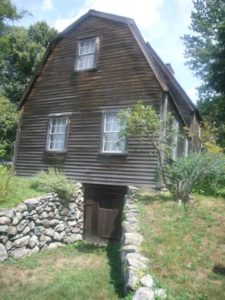 It was built around 1637, and it's the oldest surviving wood frame house in North America.