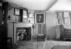 The parlor on the first floor.