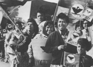 Union organizing of farm workers was only the first step for Cesar Chavez in his life-long battle against injustice. The farm worker movement helped to expose the connection between discrimination