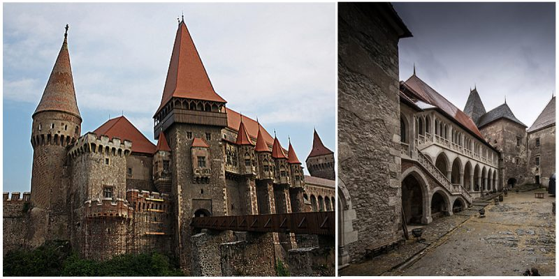 One of the most beautiful castles in Romania and one of the largest castles in Europe.