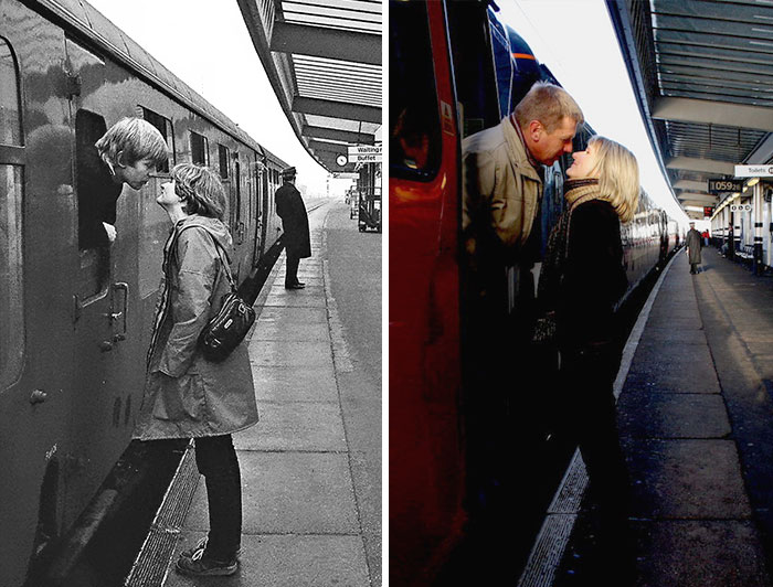 Photographer Finds The Same People He Shot 30 Years Ago And Recreates Their Photos