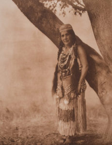 Hupa Woman in Primitive Costume