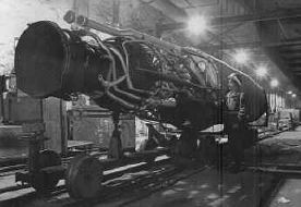 Underneath Kohnstein Mountain, about 250 [V-2] missiles were found in various stages of completion on the Mittelwerk assembly line