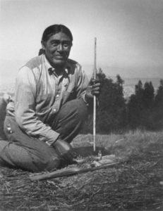 Ishi (1860-1916), last surviving member of the Yahi Indian tribe of California.