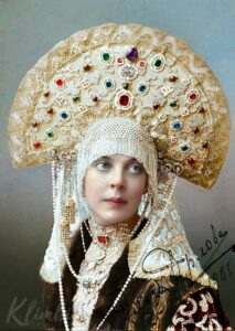 Princess Olga Orlova. Colorization by Olga Shirnina