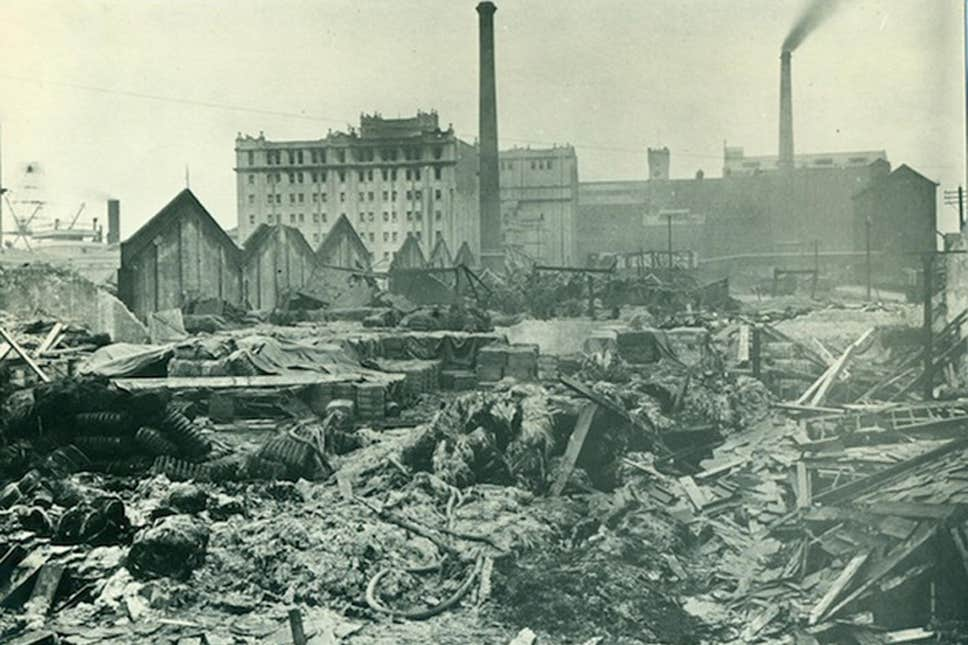 """""""Suddenly there was a deafening roar"""": 102 years on from London's biggest explosion"""