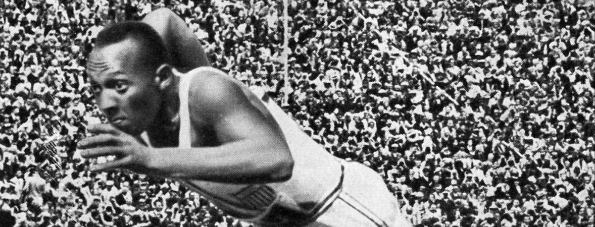 Jesse Owens Sets Records, Annihilates Nazi Competition at the 1936 Olympics