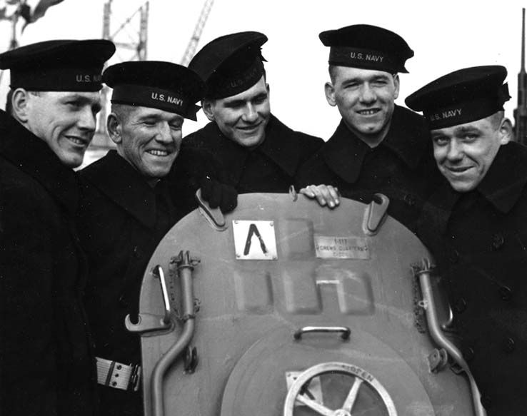 The five Sullivan brothers, serving together, were killed in World War II.