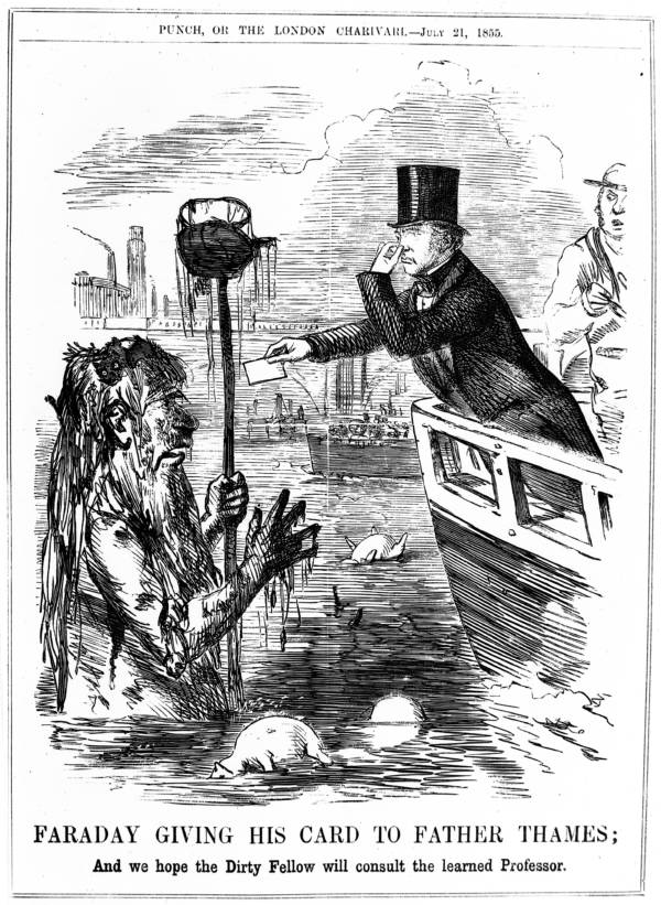 London's Great Stink heralds a wonder of industrial world