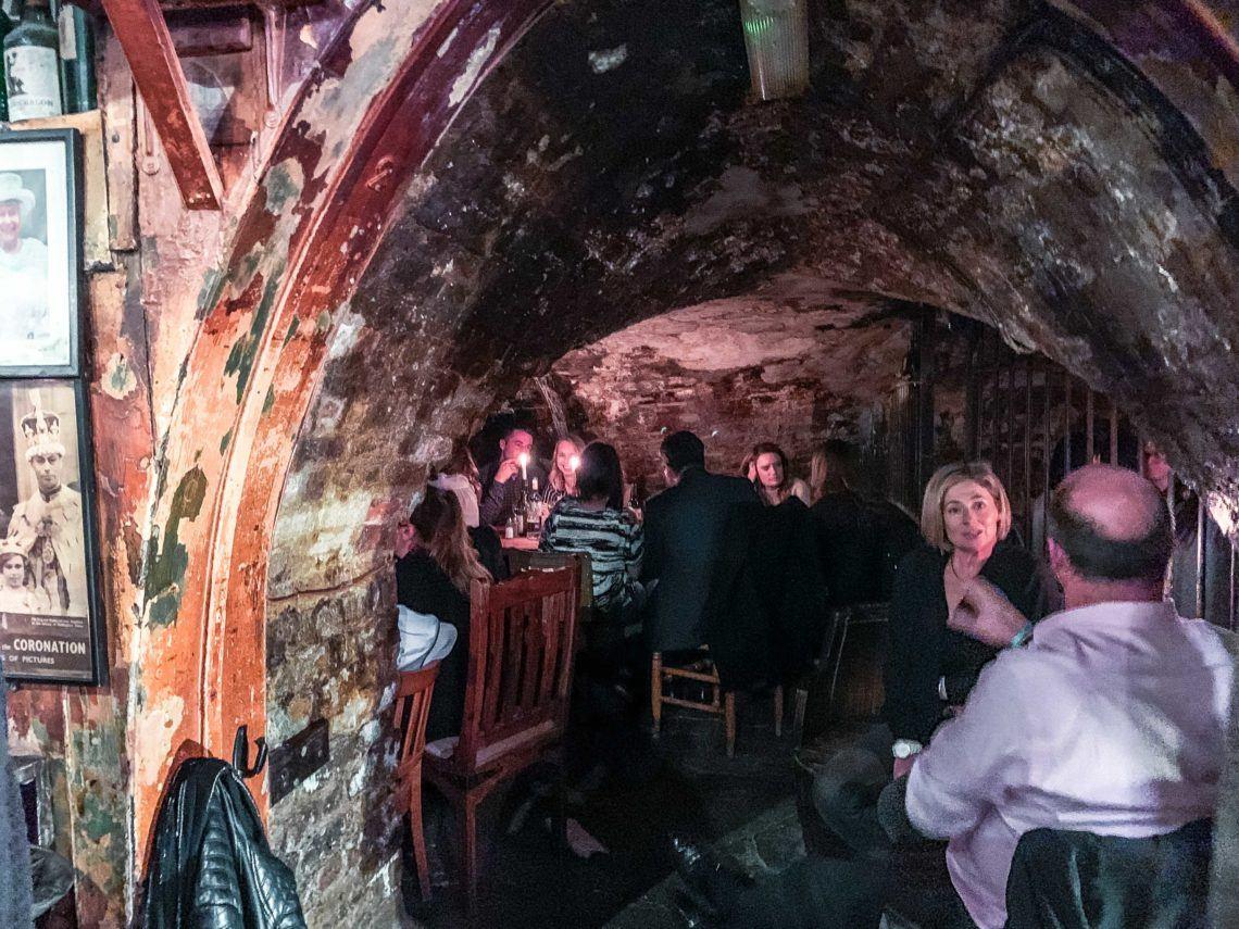 Inside London's Worst-Kept Secret, Gordon's Wine Bar
