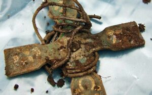 A pectoral cross from the Viking hoard