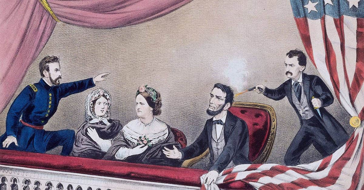 Video of Last Surviving Witness of Lincoln's Assassination Recounting the Event