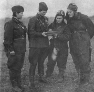 Four of the Night Witches in 1943.