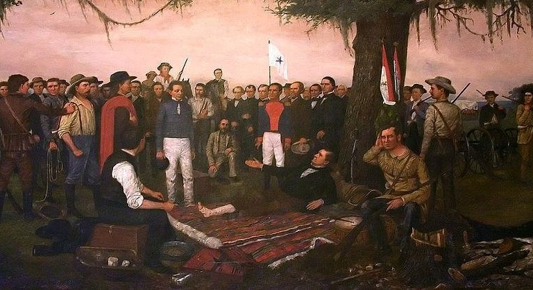 The Battle of San Jacinto – where Santa Anna Lost Texas By Falling Asleep
