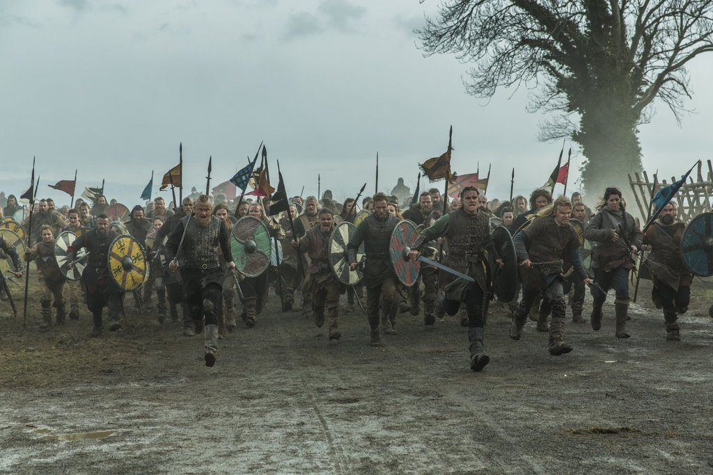 The Great Heathen Army: Viking Coalition Becomes an Anglo-Saxon Nightmare