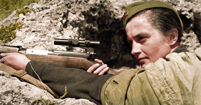 WW II Lady Death: Lyudmila Pavlichenko, the Greatest Female Sniper of All Time