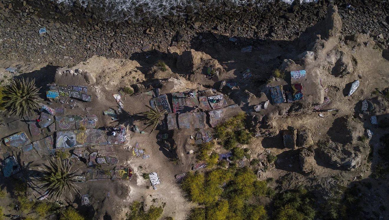 San Pedro's sunken city in Los Angeles – where geology meets art
