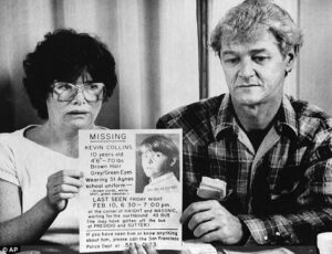 Heartbreak: The boy's parents, Ann, left, and David, right, held on to hope for years that he would be found alive, but they now believe Kevin to be dead.