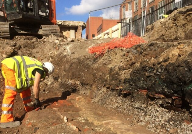 Elizabethan-Era Theater Site Excavated in London