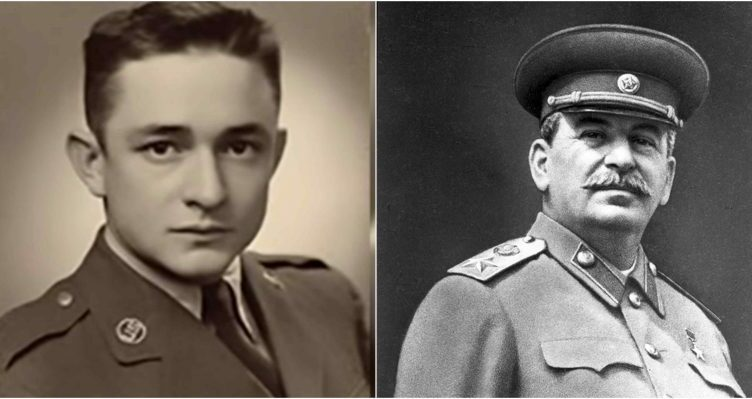 Johnny Cash was the first American to hear about Stalin's death